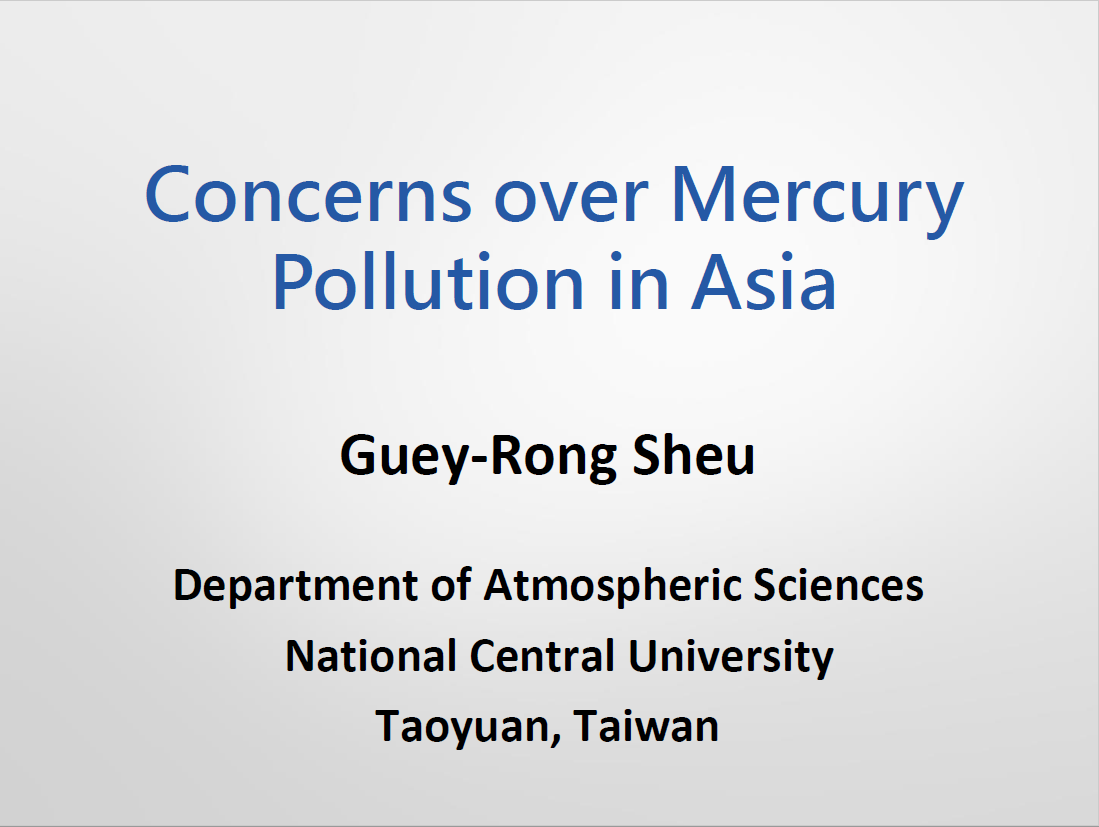First page of Concerns over Mercury Pollution in East and Southeast South Asia