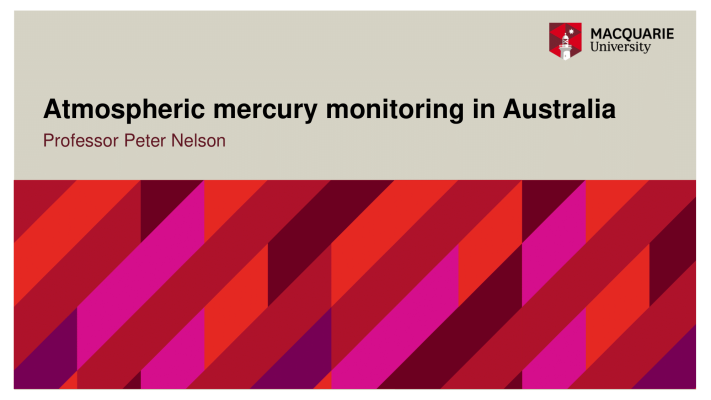 First page of Atmospheric mercury monitoring in Australia