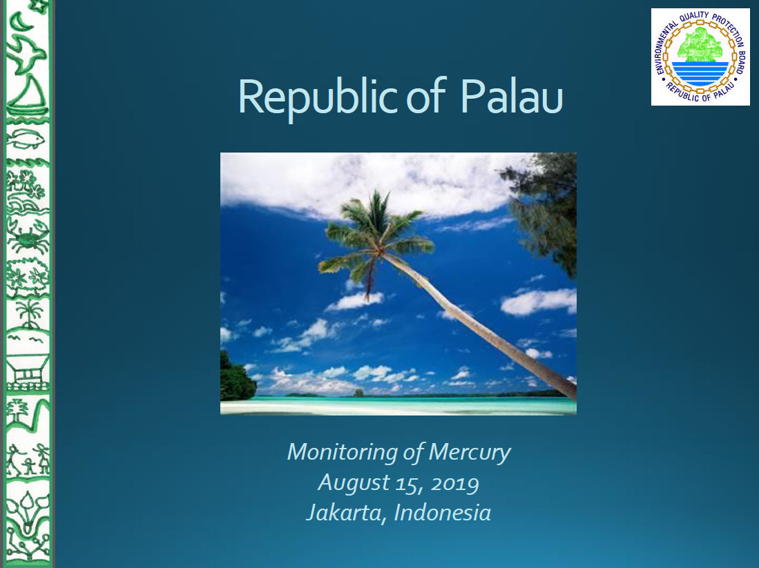 First page of Republic of Palau