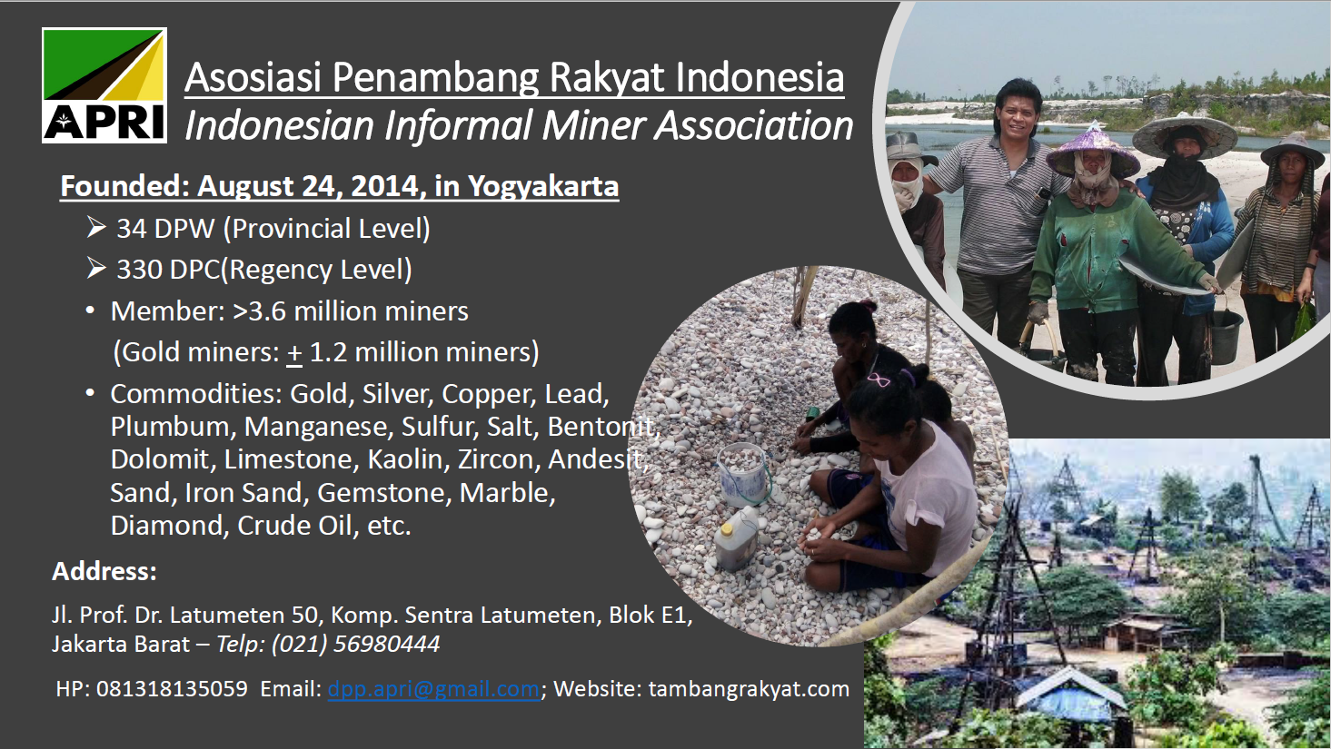 First page of Artisanal and Small-Scale Gold Mining (ASGM) in Indonesia