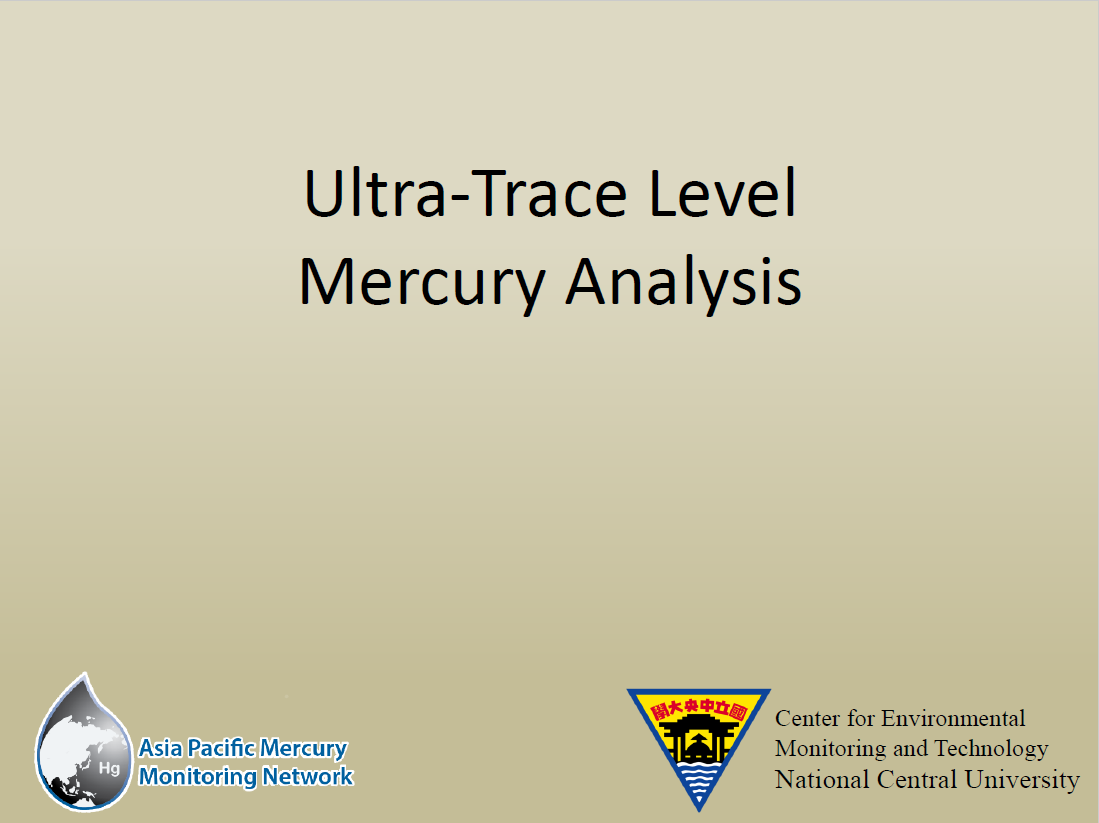 First page of Ultra Trace Level Hg Analysis