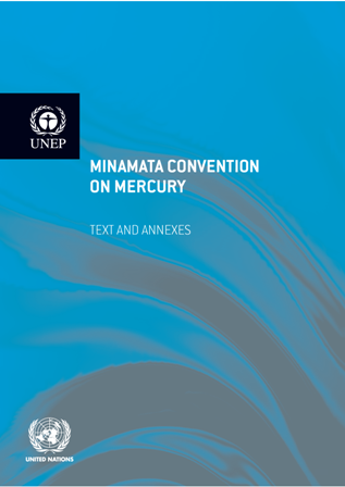 First page of Minamata Convention on Mercury