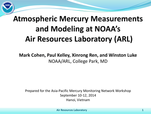 First page of APMMN Hanoi Meeting