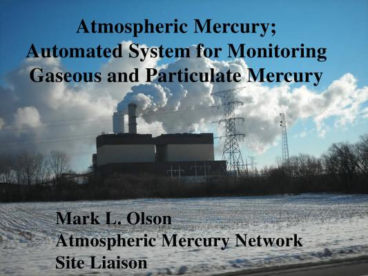 First page of Mercury Automated System