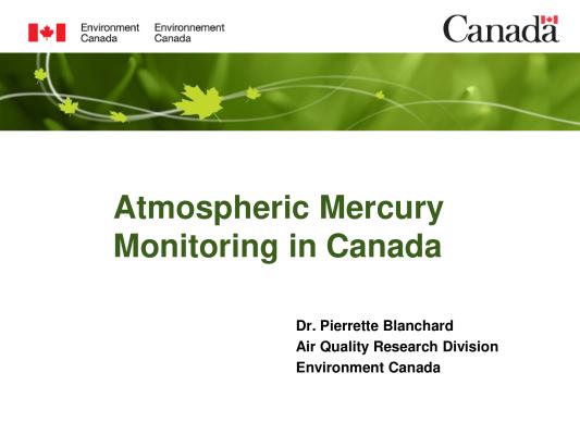 First page of BLANCHARD Mercury Washington FINAL Canada