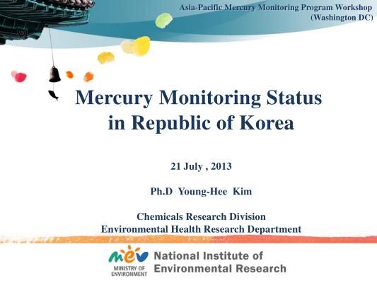 First page of USEPA workshop_KIM(Korea)